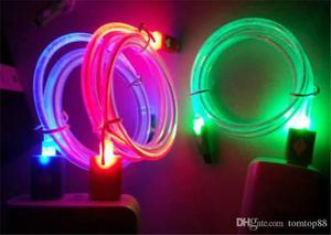 Cable Usb V8 De Carga Rapida Con Luces Tipo Led (ica)