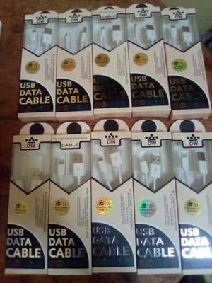 Cables De Datos Para Celulares V8, Iphone Y Tipo C