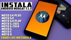 Actualizacion Android Motorola Moto X Play Moto G Moto Z