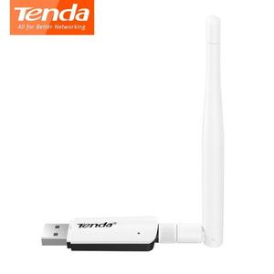 Adaptador Mini Usb Wifi Tenda U1 Inalámbrico 300mbps 3.5dbi