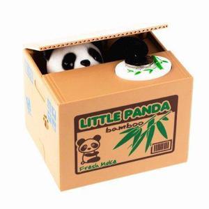 Alcancia Panda Roba Monedas Al Mayor Y Por Menor