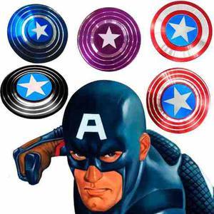 Fidget Spinner Capitán América Metal Verídico