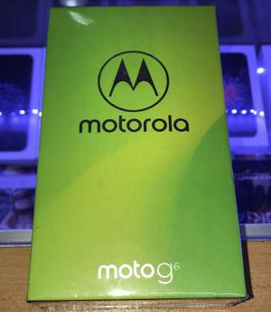 Motorola Moto G6 4g 12+5 Mp Dual 32gb 3gb Ram Nuevo Sellado