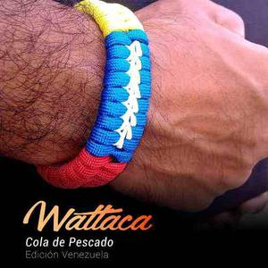 Pulsera De Venezuela, Hombre, Mujer, Paracord | Wattaca