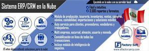 Efactory Software Erp/crm En La Nube O Local En Perú