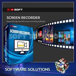 Zd Screen Recoder - Graba La Pantalla De Tu Pc Y Videojuegos