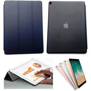 Cover Smart Case Ipad Pro 12.9 Con Logo Apple Azul Funda