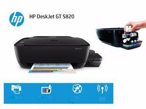 Hp Impresora Multifuncional Gt 5820 Wifi Con Tinta Liquida