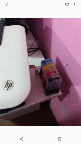 Impresora Hp 2545 Wi Fi Con Tinta Continua Lista Para Usar
