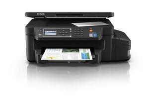 Multifuncional De Tinta Ecotnak Epson L606, Imprime/escanea