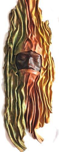 Psicodelico Escultura En Cuero