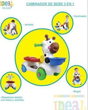Caminador Bugui Scooter Andador De Bebé + Envío