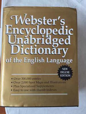Diccionario Webster Encyclopedic Unabridged Dictionary