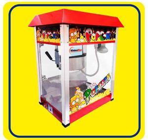 Máquina Popcorn Profesional Comercial Marca Kitchenway