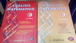 ANALISIS MATEMATICO 1 y 2 VENERO