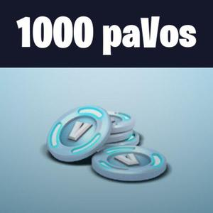 Fortnite 1000 Pavos Pc