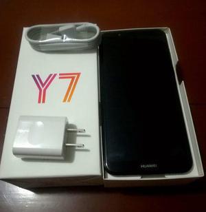 Huawei Y7 2018 16gb Ram 2gb Dual Color Negro 100% Nuevo