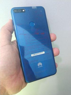 Huawei Y7 2018 Como Nuevo Imei Original 16gb Huella