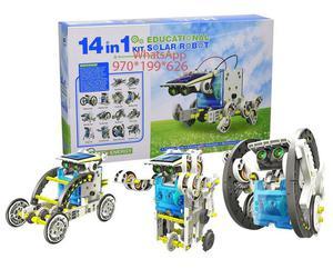 Kit Robot armable 14en1 funciona a Energía Solar * Pv20