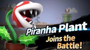 Código Super Smash Bros Planta Piraña