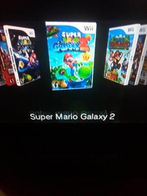 Nintendo Wii con 2 mandos y 12 juegos memoria de 64 GB