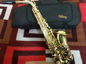 Saxofón Alto Dorado, Holtons, !!! Calidad Superior, Potente