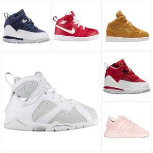 Zapatilla Niños Nike Huarache Jordan 20al27 100% Originales