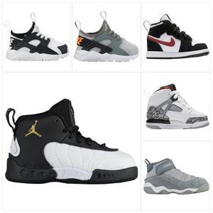Zapatillas De Niños Nike Talla 20 Al 27 100% Originales De