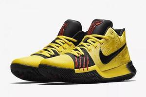 Zapatillas Nike Kyrie 3 Bruce Lee Exclusivas Contraentrega