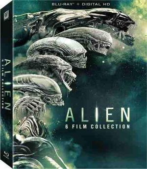 Blu Ray Alien: 6 Film Colección - Stock - Nuevo - Sellado