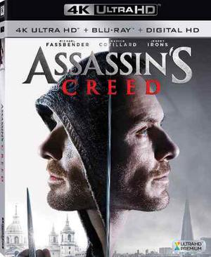 Blu Ray Assassin´s Creed 2d - 4k - Stock - Nuevo - Sellado