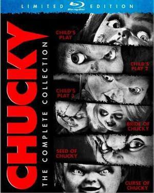 Blu Ray Chucky: La Colección Completa - Stock - Nuevo