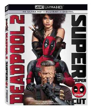 Blu Ray Deadpool 2 En 2d - 4k - Stock - Nuevo - Sellado