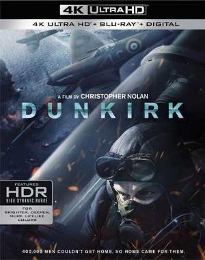 Blu Ray Dunkerque 2d - 4k - Stock - Nuevo - Sellado