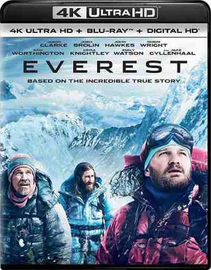 Blu Ray Everest 2d - 4k - Stock - Nuevo - Sellado