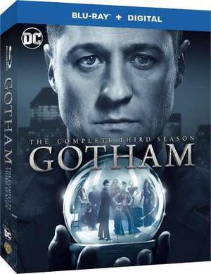 Blu Ray Gotham: 3ra. Temporada - Stock - Nuevo - Sellado