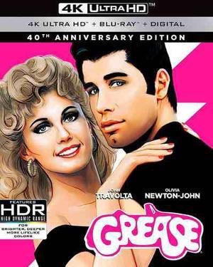 Blu Ray Grease Edición 40° Aniversario 2d - 4k- Stock-