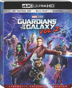 Blu Ray Guardianes De La Galaxia: Vol. 2 En 2d - 4k - Stock