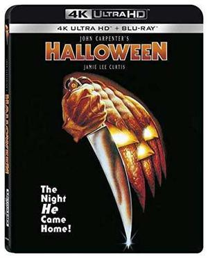 Blu Ray Halloween 2d - 4k - Stock - Nuevo - Sellado