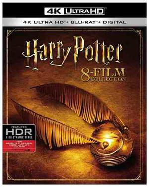Blu Ray Harry Potter: 8 Film Collection 2d - 4k - Stock