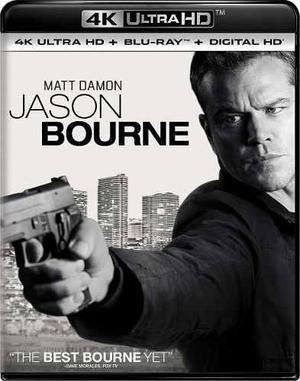 Blu Ray Jason Bourne 2d - 4k - Stock - Nuevo - Sellado