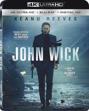 Blu Ray John Wick 2d - 4k- Stock - Nuevo - Sellado