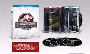 Blu Ray Jurassic Park Colección - Stock - Nuevo - Sellado