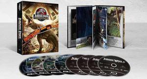 Blu Ray Jurassic Park Edición De Colección 2d - 4k - Stock