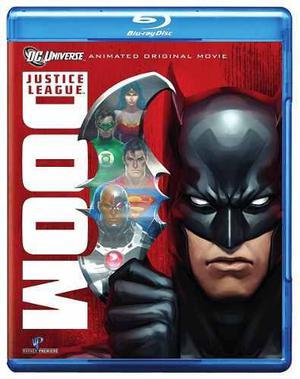 Blu Ray Justice League: Doom - Stock - Nuevo - Sellado