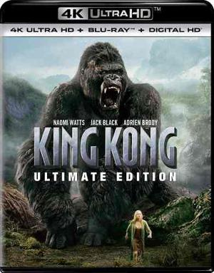 Blu Ray King Kong 2d - 4k - Stock - Nuevo - Sellado