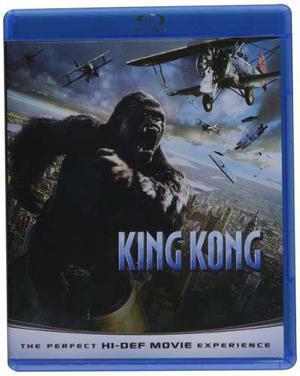 Blu Ray King Kong - Stock - Nuevo - Sellado