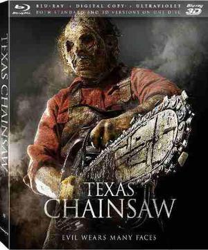 Blu Ray La Masacre En Texas 3d - 2d - Stock - Nuevo