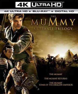 Blu Ray La Momia Trilogía 2d - 4k - Stock - Nuevo - Sellado