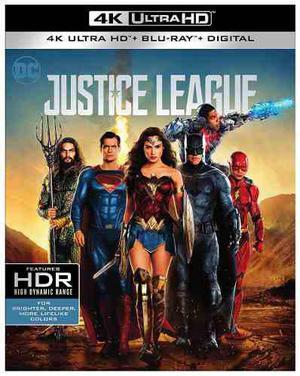 Blu Ray Liga De La Justicia - 2d - 4k - Stock - Nuevo